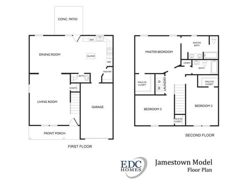 Jamestown Model Edc Homes