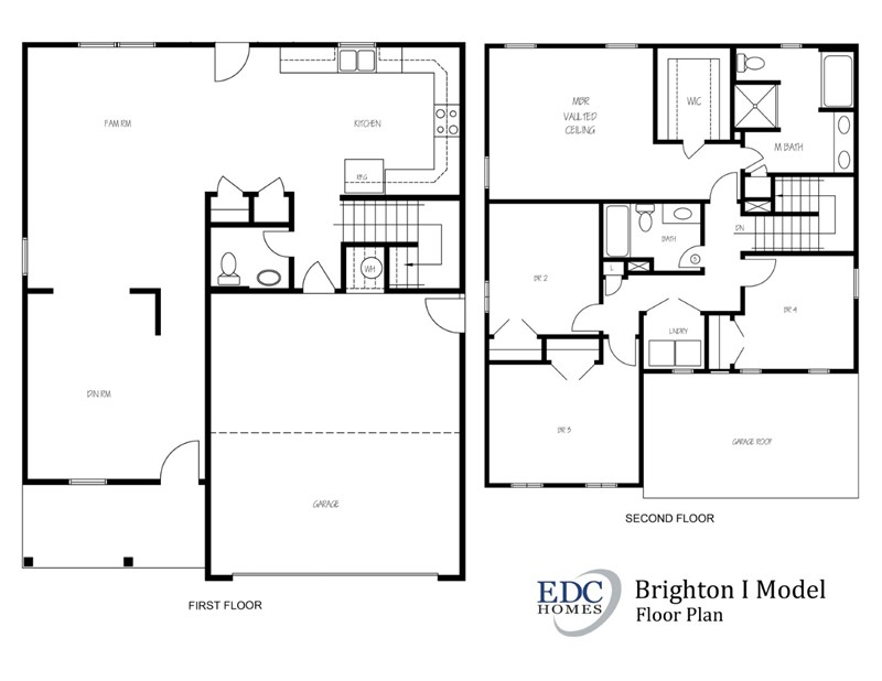 100 Brighton Homes Blakemore Floor Plan Open House