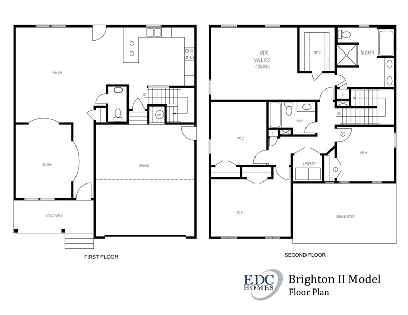The Brighton Ii Model Edc Homes